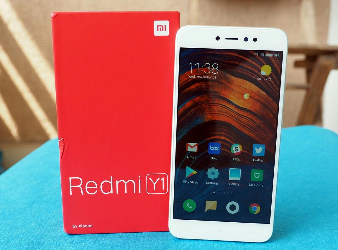 Découvrez le Xiaomi Redmi Y1, le nouveau smartphone adapté pour l'Inde ()