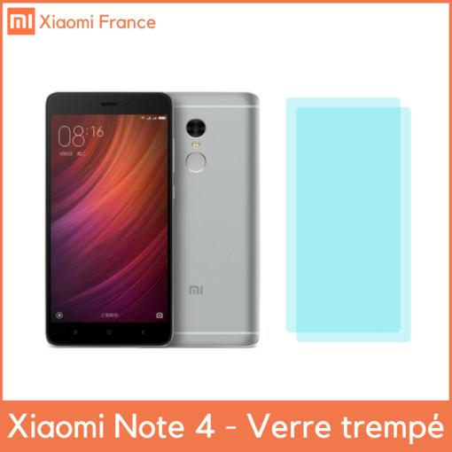 Xiaomi RedMi Note 4X - Protection écran (Verre trempé) ()