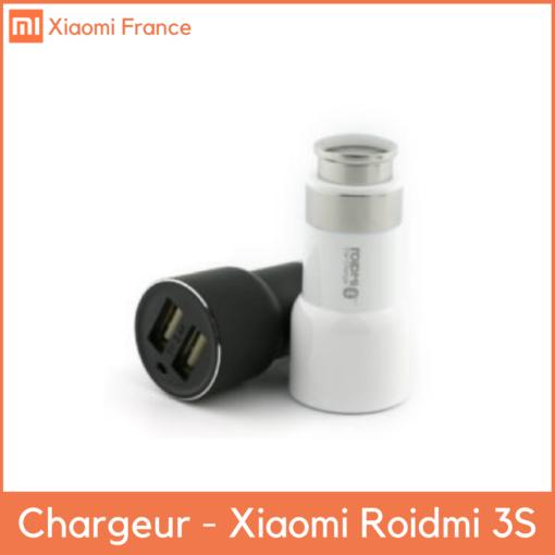 Chargeur Voiture RoidMi 3S - Allume cigare avec Bluetooth FM ()