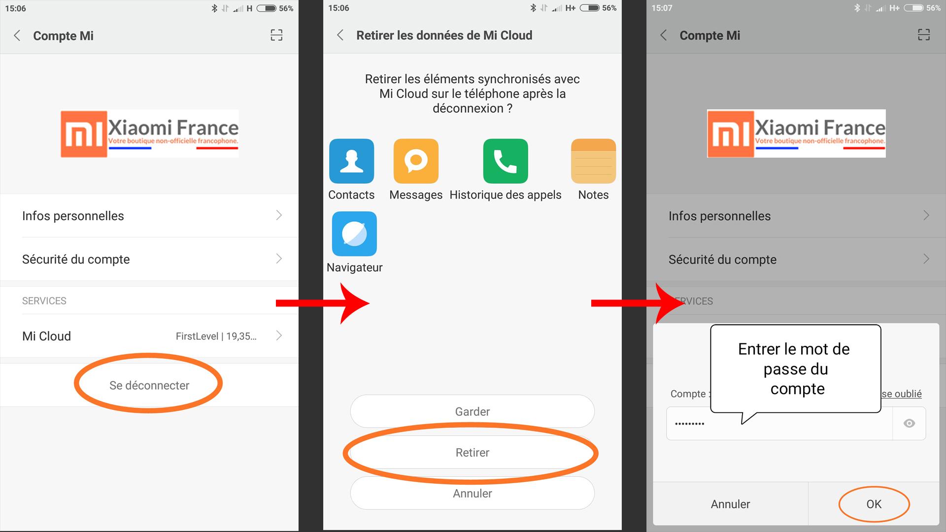 Comment effacer toutes les données de son smartphone Xiaomi (réinitialiser) ()