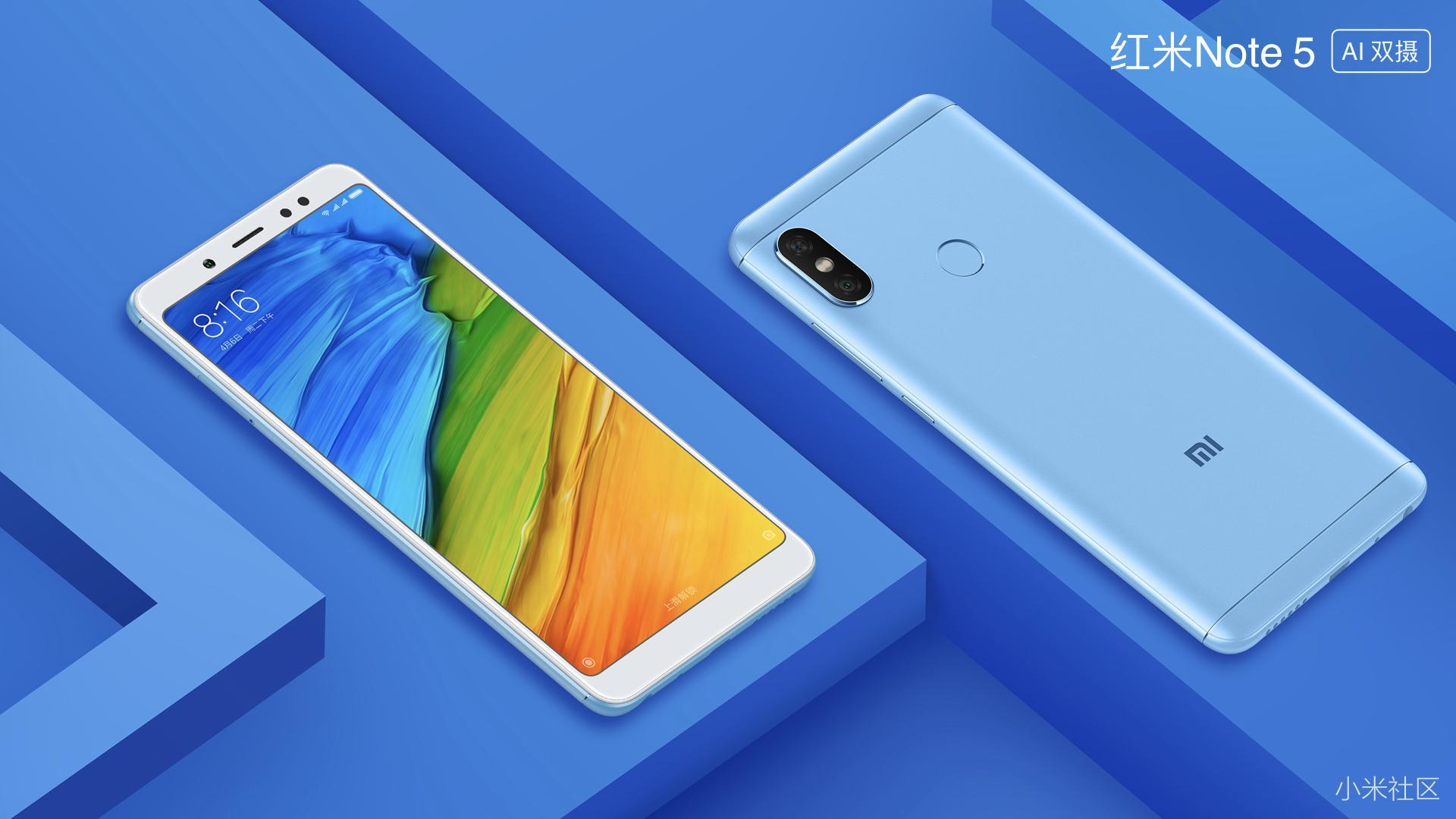 Tout sur le Xiaomi Redmi Note 5 ()