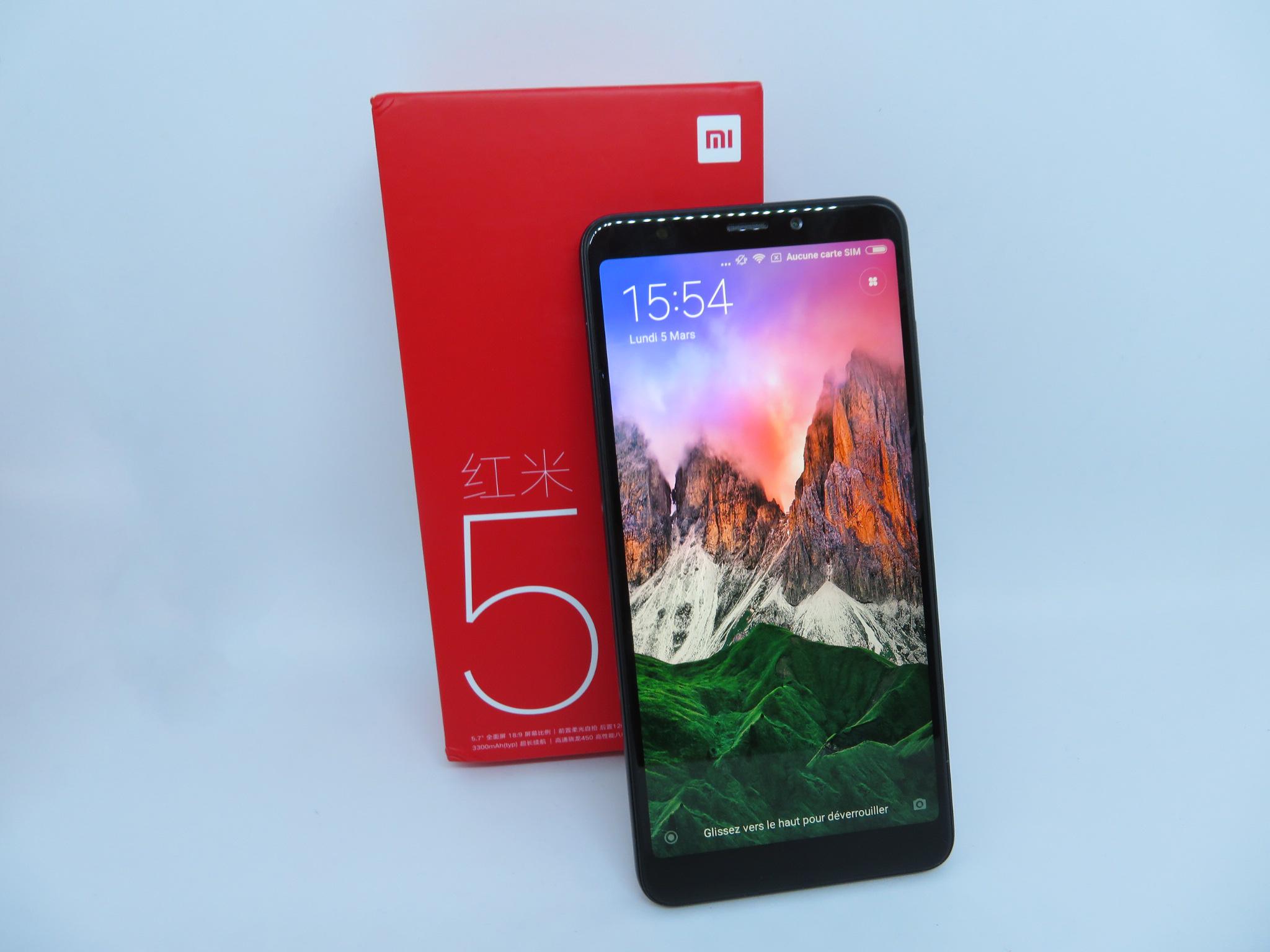 Test du Xiaomi Redmi 5 ()