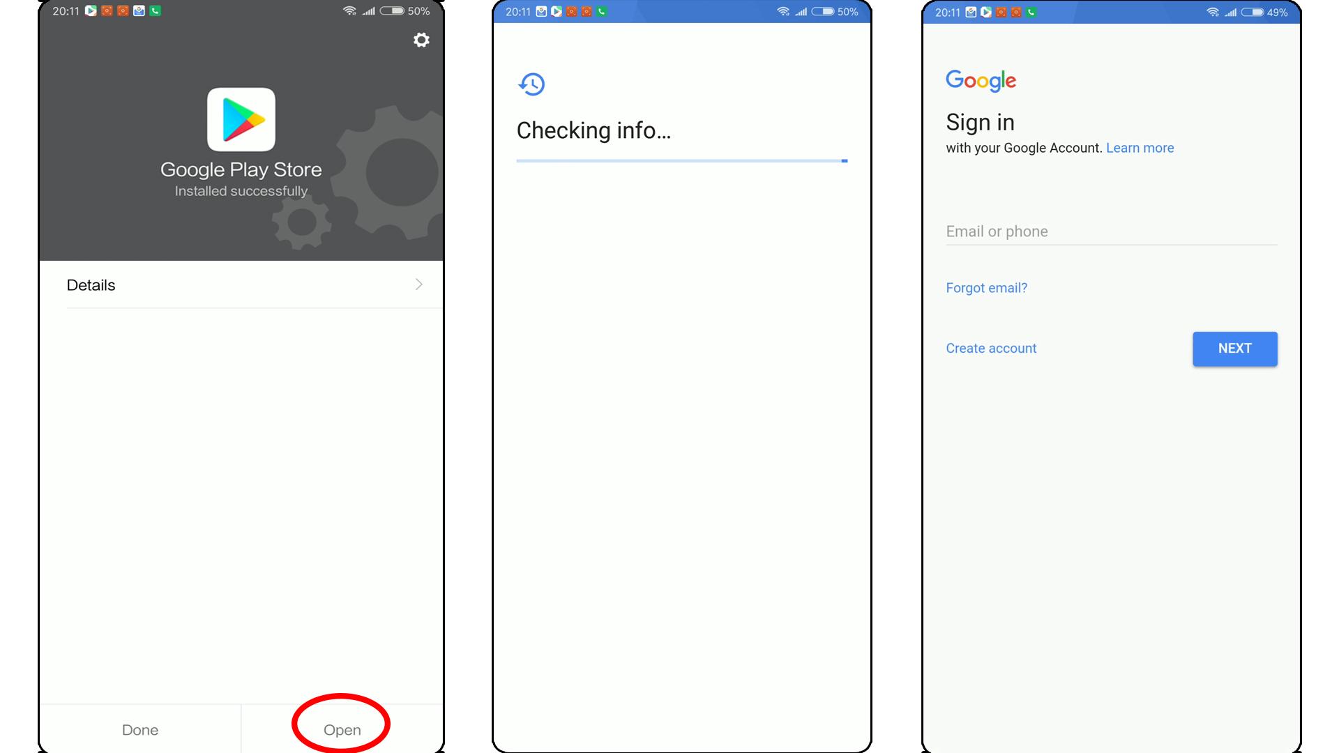 Comment installer les Google Play Services sur une ROM China ()