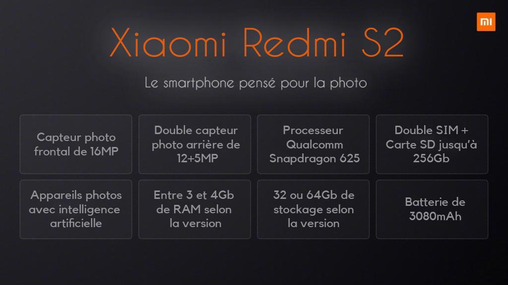 Tout sur le Xiaomi Redmi S2 ()