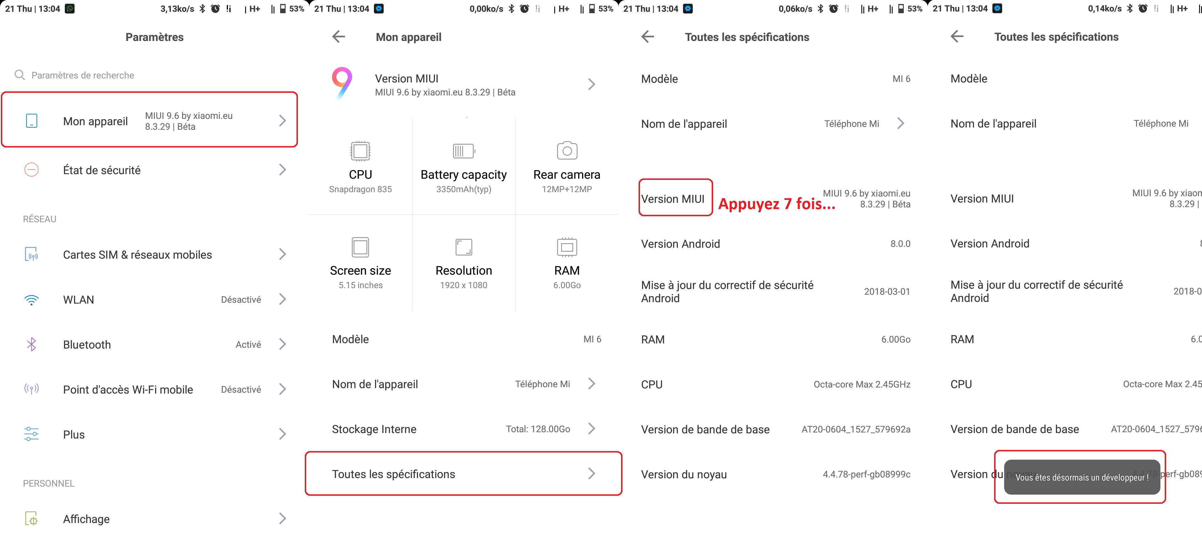 Déverrouillage du Bootloader Partie 1 (Version 2018) ()