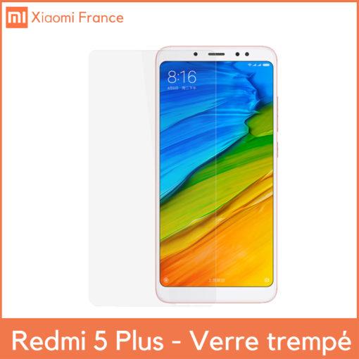 Xiaomi RedMi 5 Plus - Verre trempé 2,5D ()