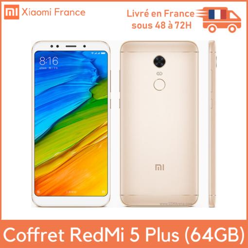 Coffret Xiaomi Redmi 5 Plus (4GB/64GB) ()