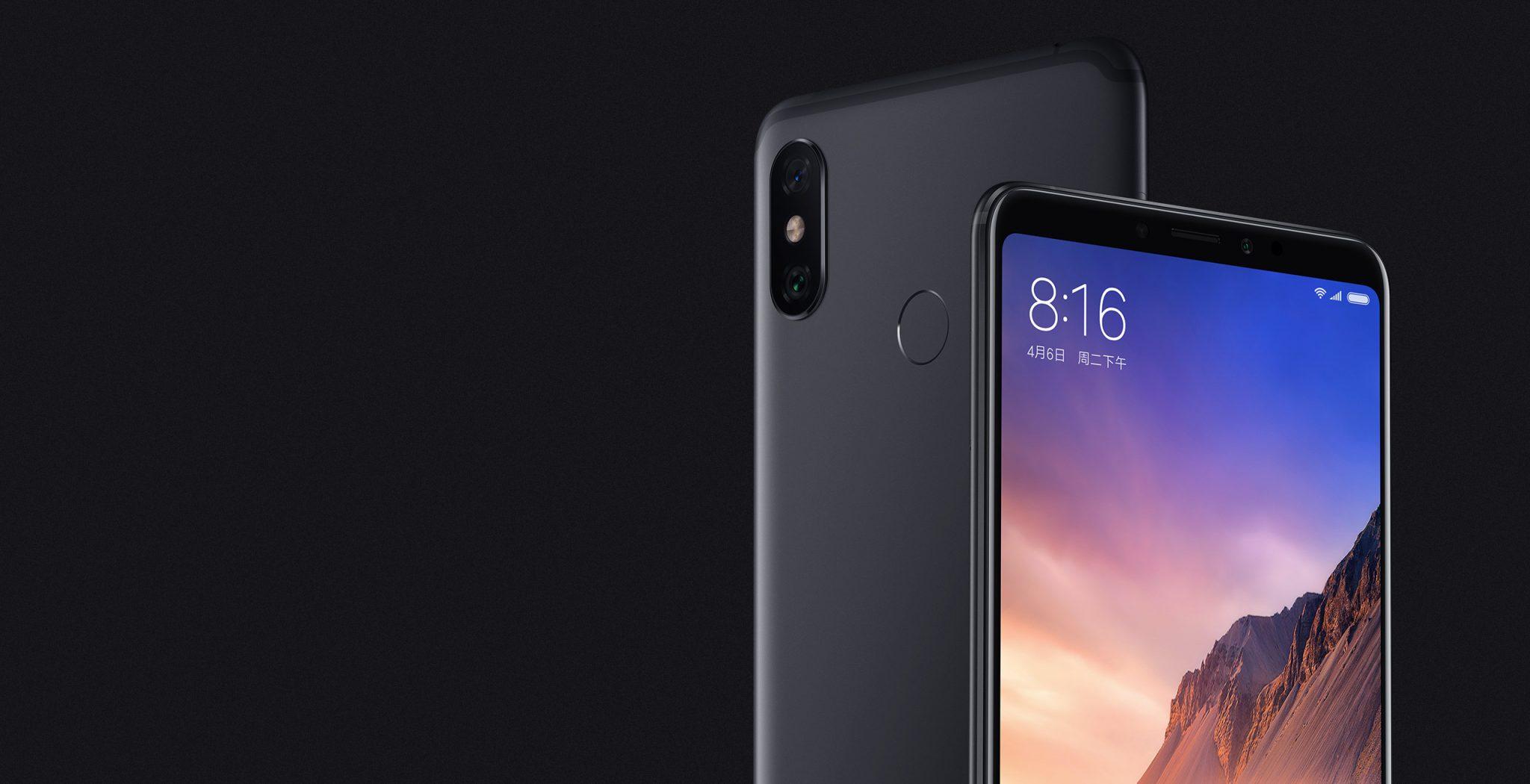 Tout sur le Xiaomi Mi Max 3, le smartphone à l'écran géant ()