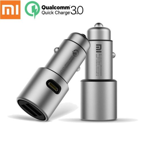 Chargeur Voiture Xiaomi - Allume cigare double USB & Type-C ()
