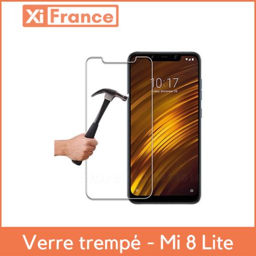 Xiaomi Mi8 Lite - Verre trempé 2,5D ()