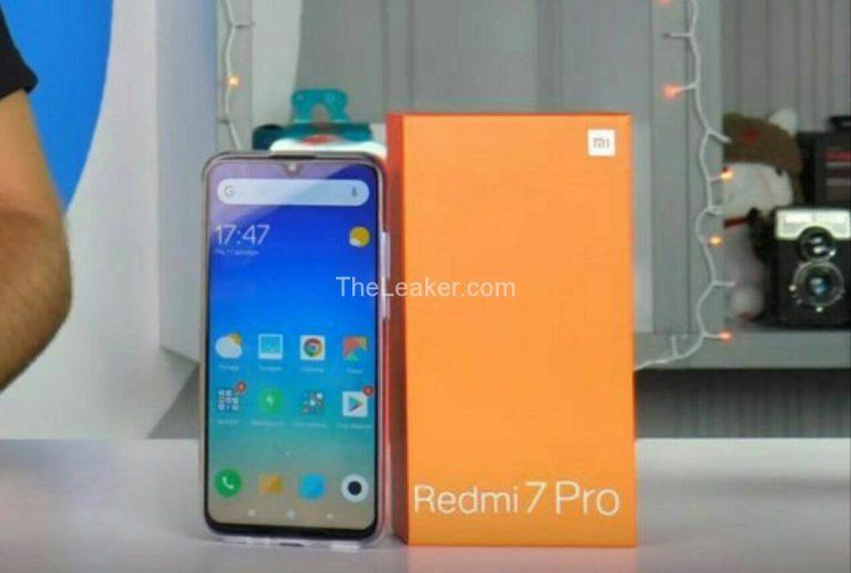 Le design et la fiche technique du Redmi 7 Pro ont fuité ()