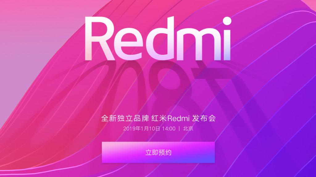 Redmi devient indépendant et sortira un smartphone le 10 janvier ! ()