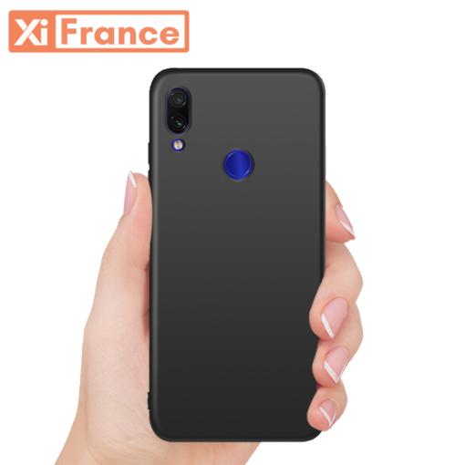 Coque Noire Xiaomi Redmi Note 7 ()