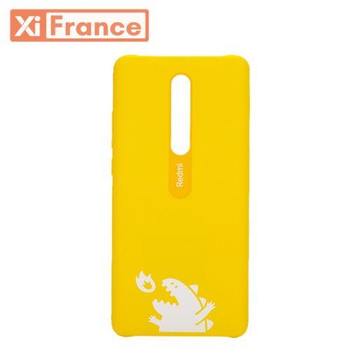 coque-xiaomi-mi-9t jaune