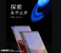 Xiaomi Mi Mix Alpha : 2 écrans et 4 caméras ? ()