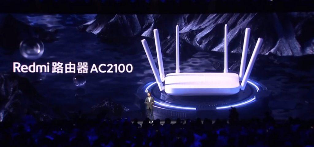 Design router Redmi AC2100