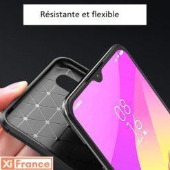 Coque Xiaomi Mi 9 Grise - Résistante et confortable ()