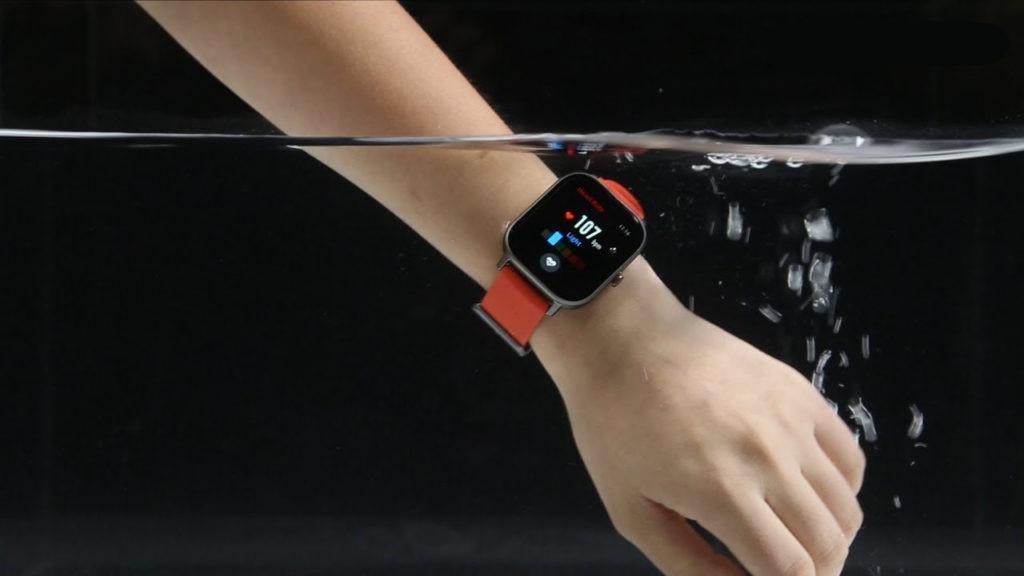 Smartwatch Amazfit GTS étanche