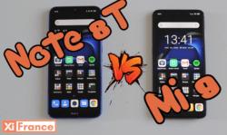 Note 8T vs Mi 9