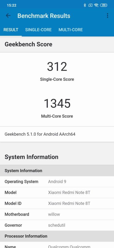REDMI Note 8T VS XIAOMI MI 9 ()