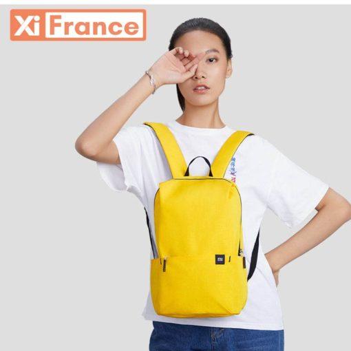 sac à dos jaune xiaomi pas cher 10 litres