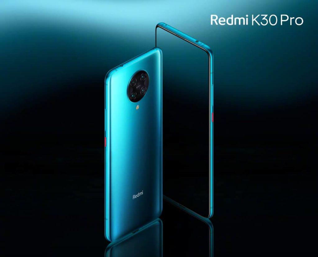 redmi k30 pro design ecran