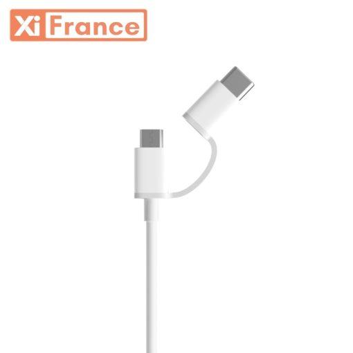 Câble USB double sortie
