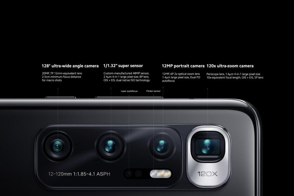 cameras Mi 10 Ultra