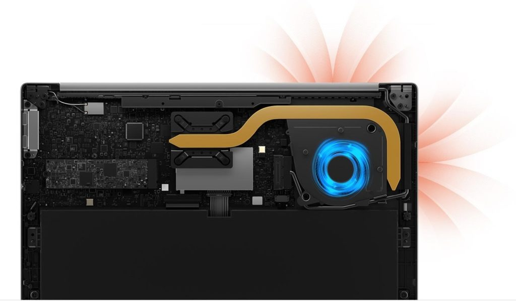 RedmiBook Air 13 refroidissement