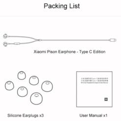 XIFRANCE.COM Ecouteurs a piston basic type c 2020 3