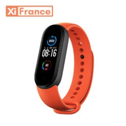 bracelet de rechange xiaomi mi band 5 orange