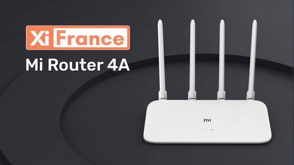 routeur xiaomi 4a 1