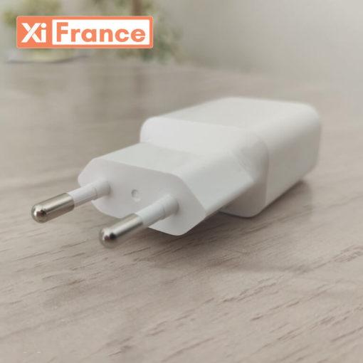 chargeur 18w xiaomi avec cable