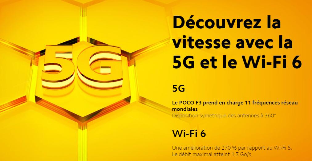 POCO F3 5G Wifi 6