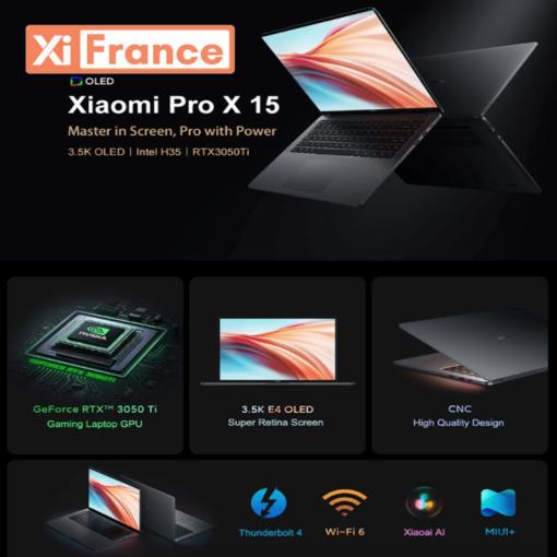 Xiaomi Mi Notebook Pro X 15 by XIFRANCE.COM 1